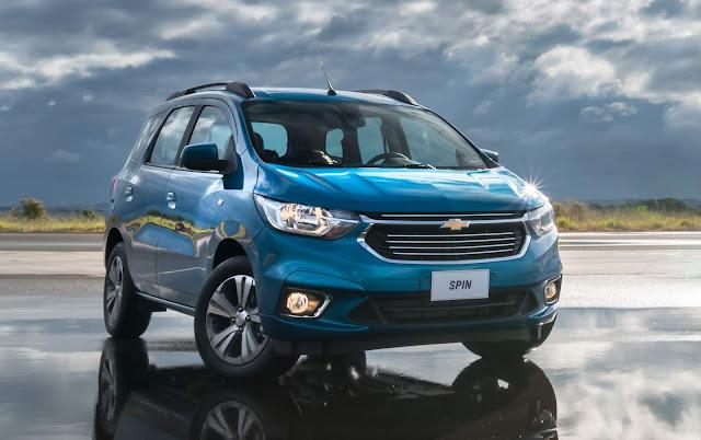 Novo GM Spin 2019