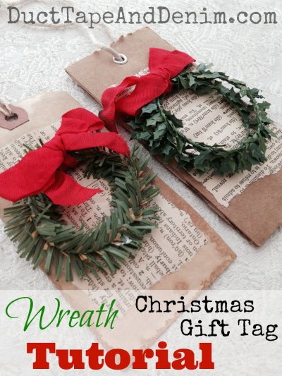 Duct Tape & Denim- Wreath hang tags-Treasure Hunt Thursday- From My Front Porch To Yours