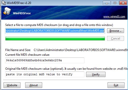 Verificar hash md5 / Puedo ver netflix cuando viajo al extranjero