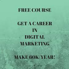 How to Get a $60K/Yr Career in Digital Marketing - Bishu Tricks