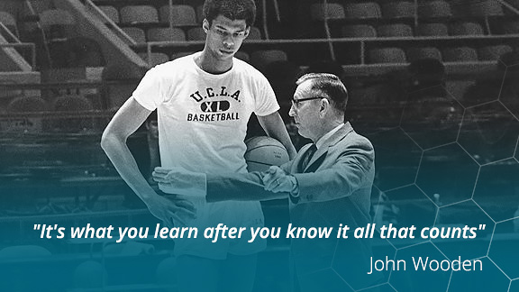 The John Wooden Approach to Actionable Feedback