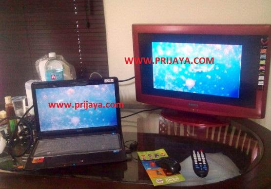 cara menghubungkan laptop ke tv lcd dengan kabel hdmi prijayablog. Black Bedroom Furniture Sets. Home Design Ideas