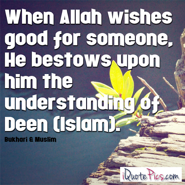 Allah Quotes: When Allah wishes good for someone