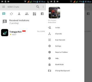 Download BBM Mod Gratis Versi 3.2.0.6 Change Background