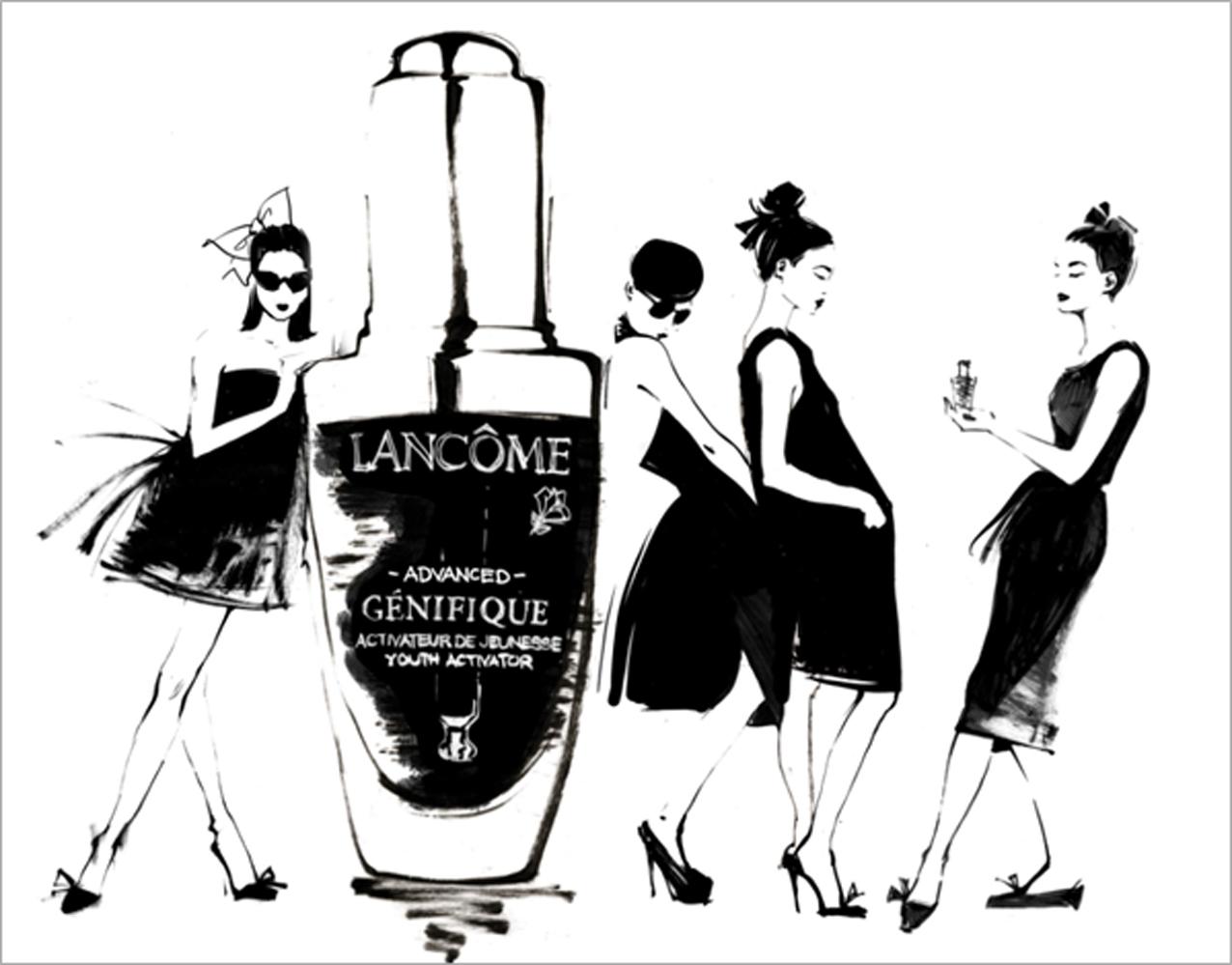 The Little Black Bottle By Lancome Exhibition Concerts