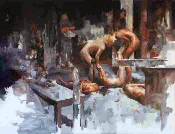 Французский художник. Julien Spianti