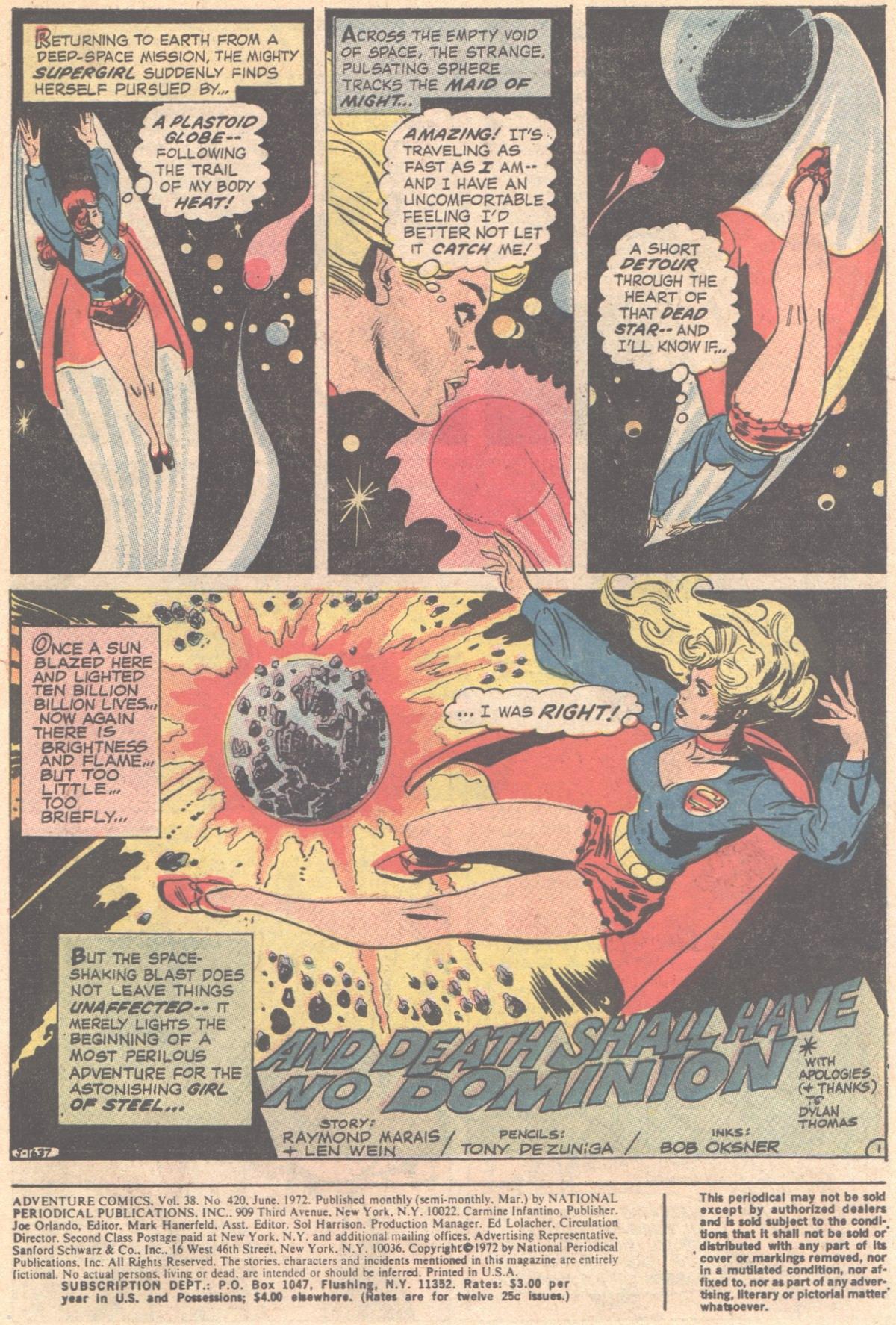 Read online Adventure Comics (1938) comic -  Issue #420 - 3