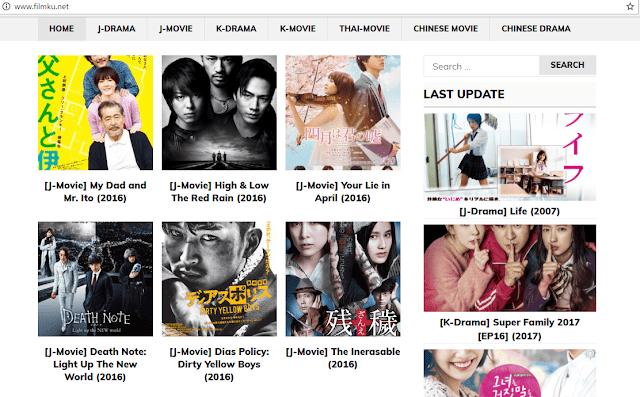 Situs Download Film Korea dan Jepang