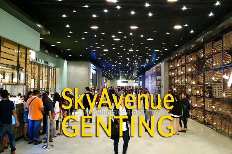 Genting SkyAvenue Mall