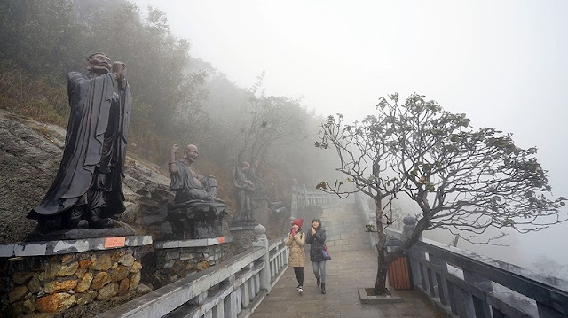 Inauguration ceremony of a spiritual and cultural complex on Fansipan Peak in Sa Pa