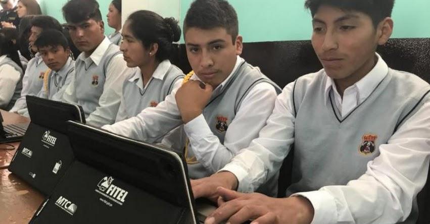 MINEDU: Escolares de 4 regiones podrán acceder a bibliotecas virtuales y videos educativos - www.minedu.gob.pe