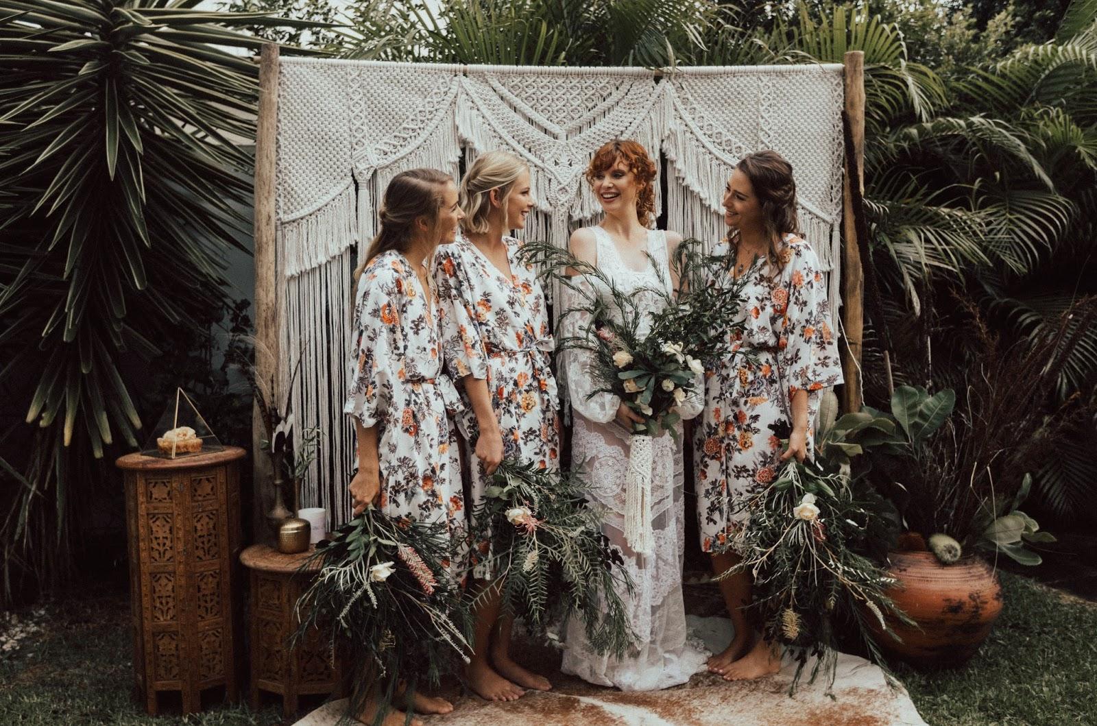 HANDMADE BRIDAL ROBES AUSTRALIA