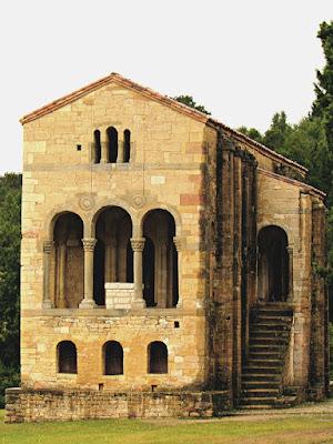 Iglesia de santa María del Naranco; Santa María del Naranco; Prerrománico; Prerrománico asturiano; Oviedo; Uviéu; Asturias