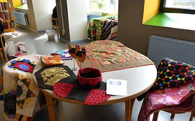 Vitus Bering Quilternes mini patchwork udstilling