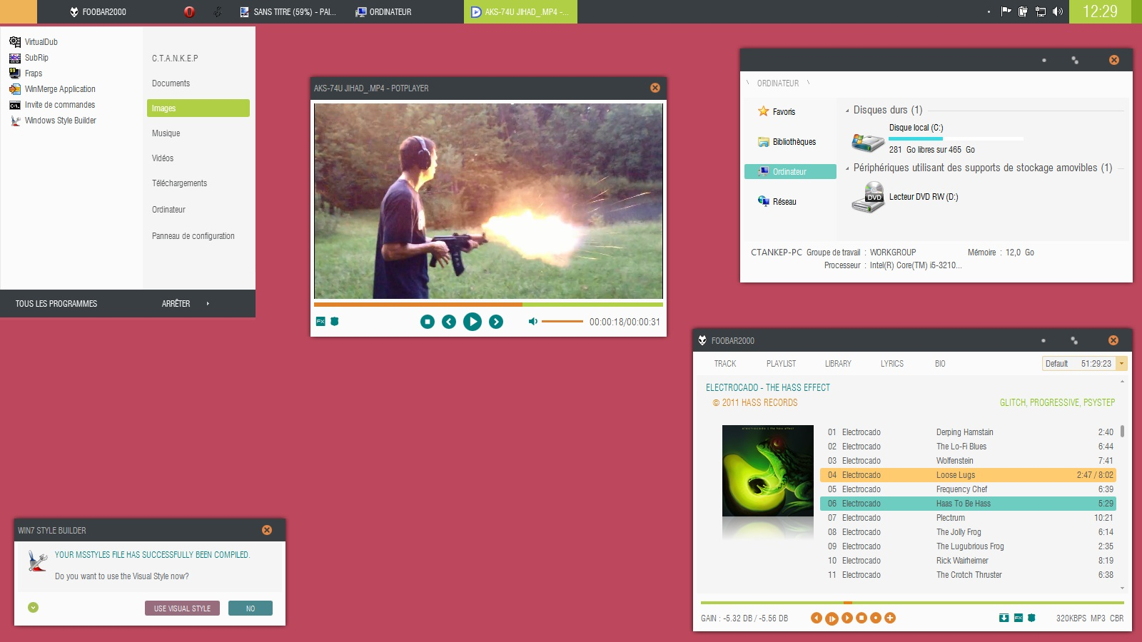 Infinity theme for windows 7 for Window 07 themes