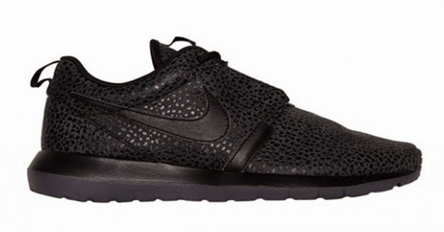separation shoes 7dfd8 31f19 The latest Nike Roshe Run Woven is here with black suede consuming all of  the upper preventing the drop and creating structure while the woven part  of the ...