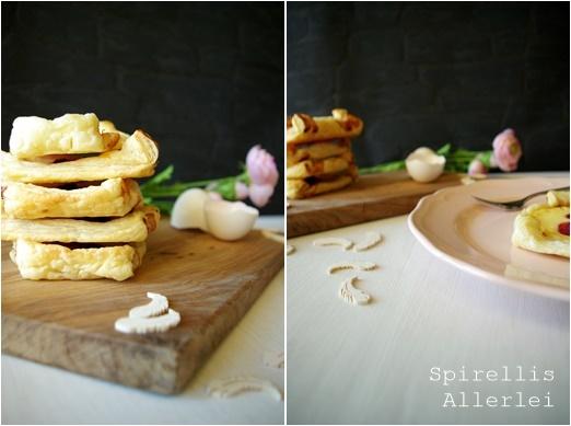 Spirellis Allerlei - Gefüllte Blätterteigtaschen mit Vanille