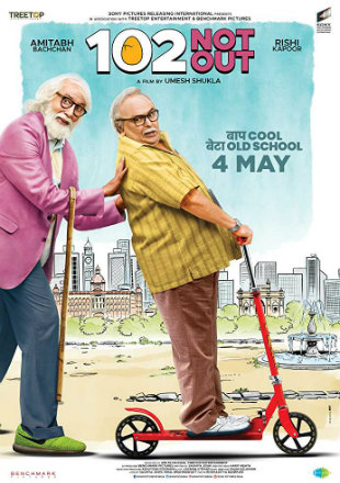 102 Not Out 2018 Full Hindi Movie Download Hd In 480p 300Mb