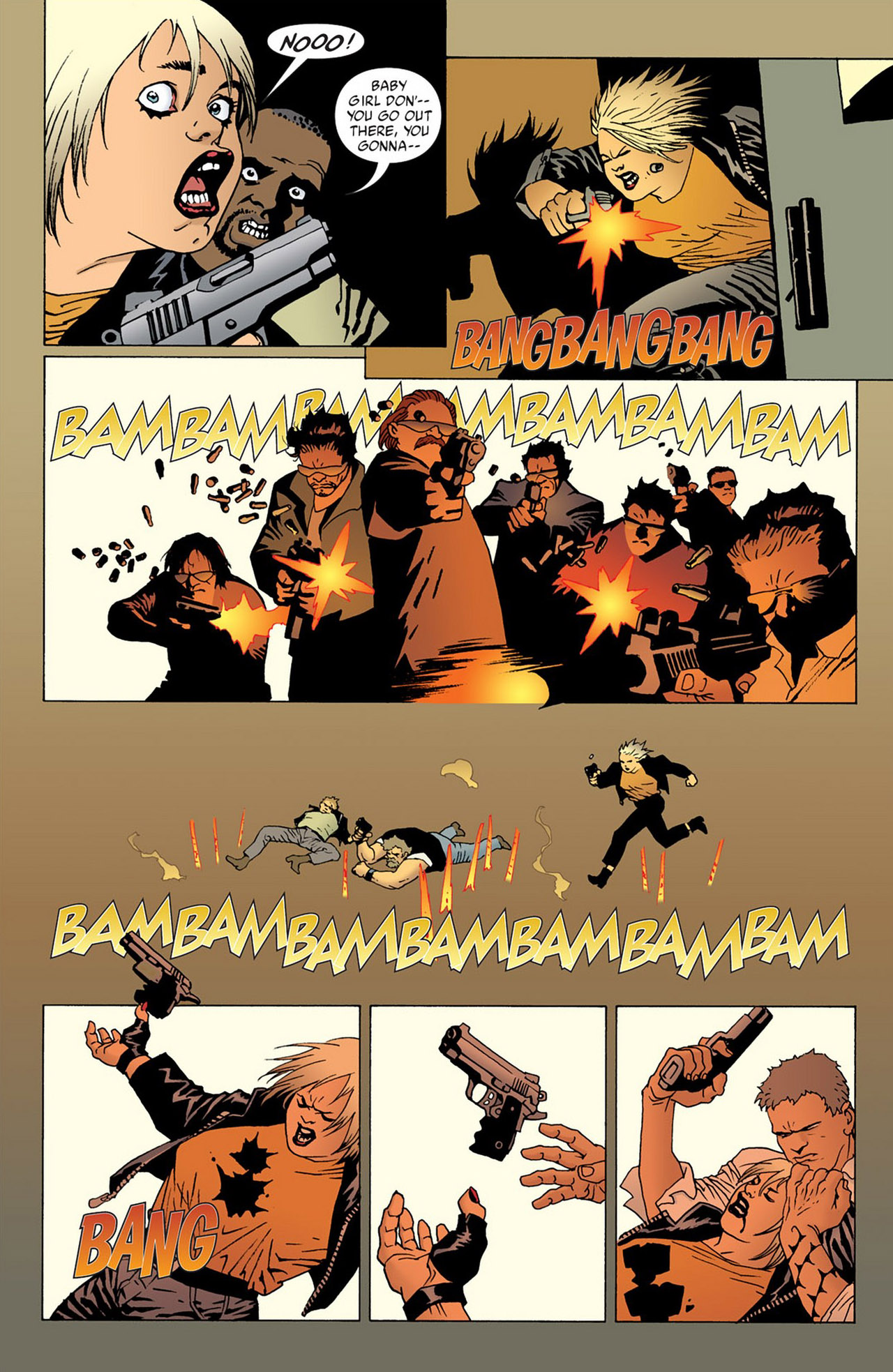 Read online 100 Bullets comic -  Issue #50 - 24