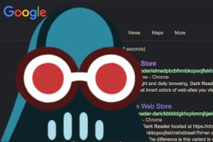Dark Reader - Tema escuro para todos os sites