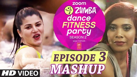 Zoom Zumba Dance Fitness Party Video Song 2016 Mash Up Pallavi Sharda Kainaat Arora