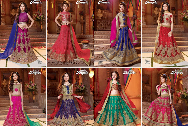Kids Lehengas Cholie