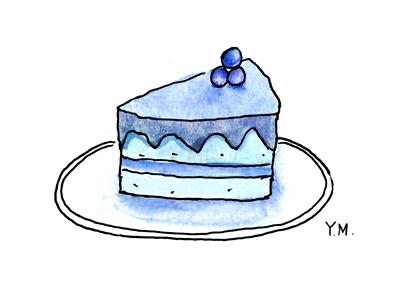 Cake by Yukié Matsushita
