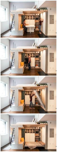 Habitación all-in-one