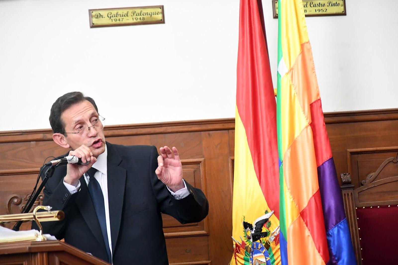 Juez chuquisaqueño fue electo magistrado en 2017 con 33 mil votos / ABI