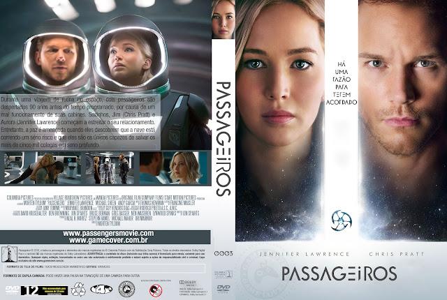 Capa DVD Passageiros [Exclusiva]