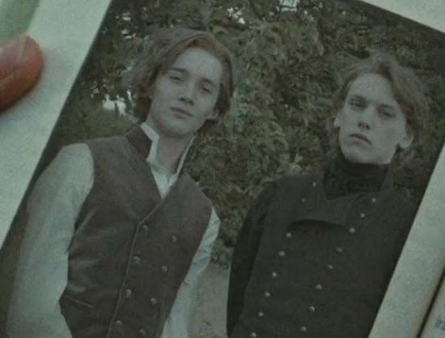 Дъмбълдор и Гриндълуолд в Хари Потър и даровете на смъртта