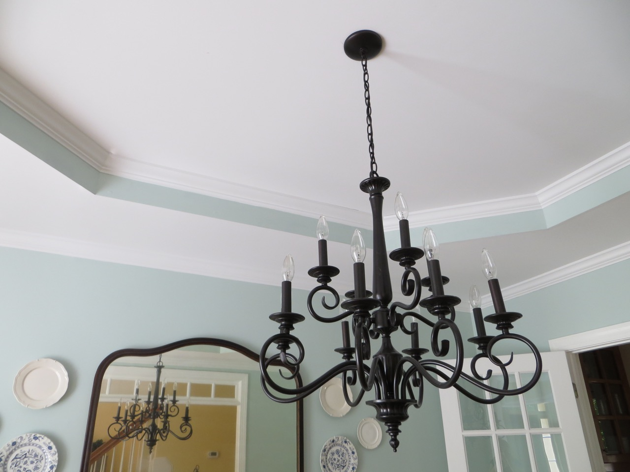 how to rewire a chandelier and switch out light fixtures  the, Lighting ideas