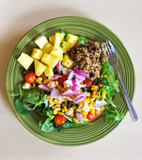 Pineapple and Quinoa Summer Salad