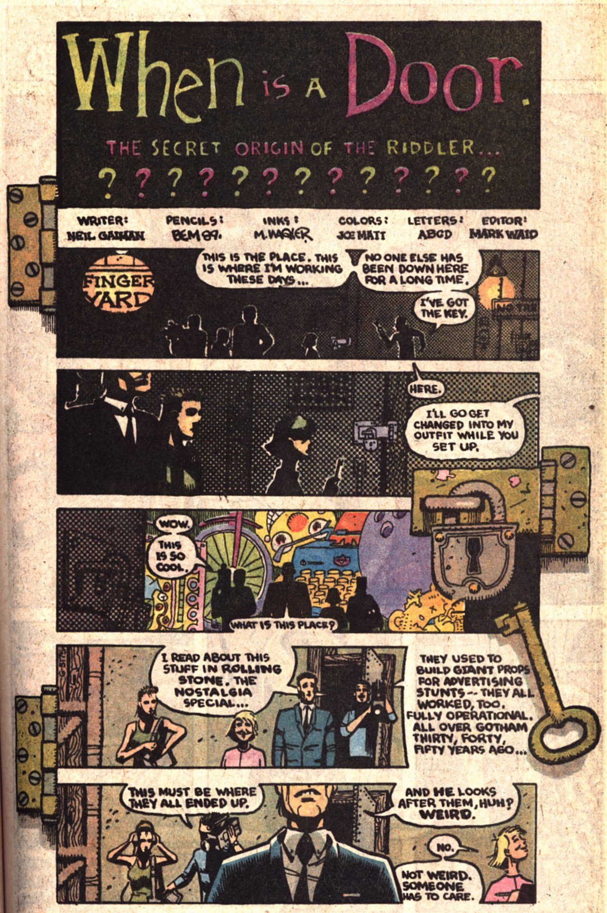 Read online Secret Origins (1986) comic -  Issue # _Special 1 - 28