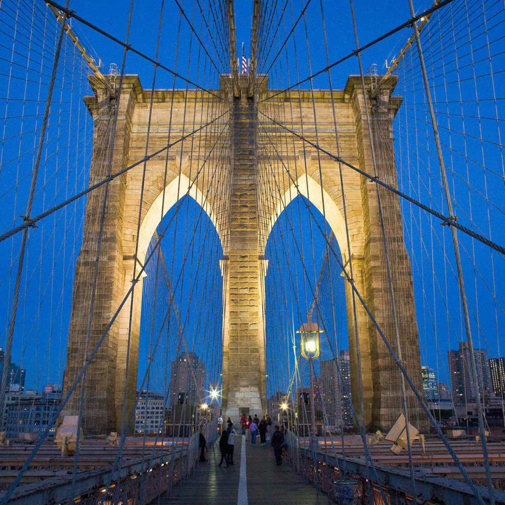 A Brooklyn Bridge Wallpaper