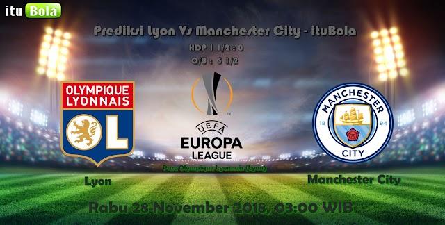 Prediksi Lyon Vs Manchester City - ituBola