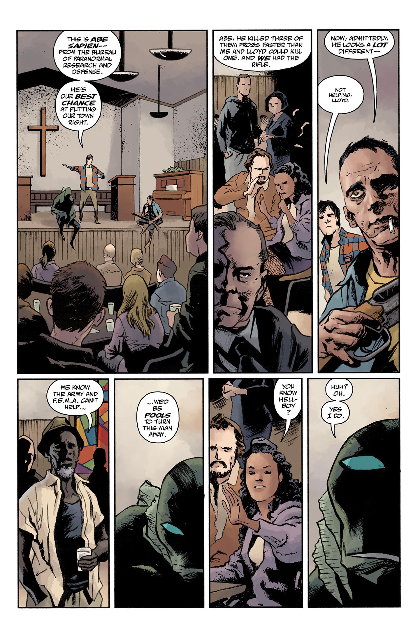 Read online Abe Sapien comic -  Issue #24 - 15