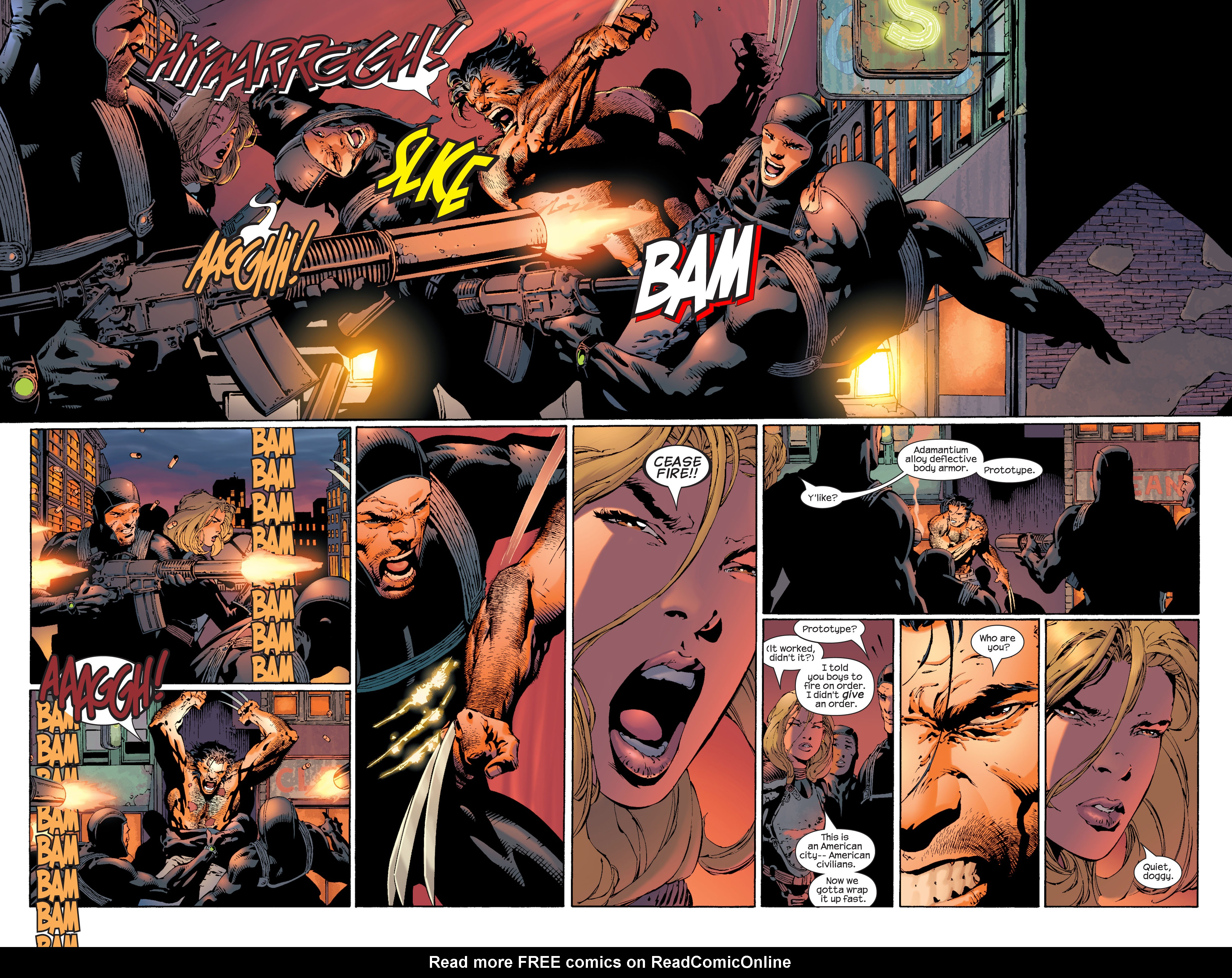 Read online Ultimate X-Men comic -  Issue #36 - 17