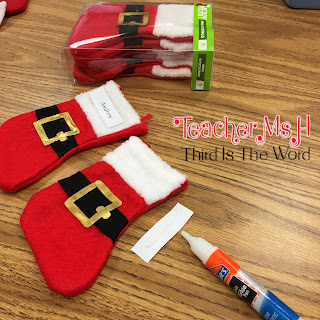 Mini-Stockings for students