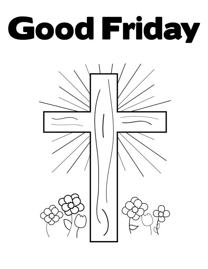Easter Coloring Pages: Good Friday Coloring Pages
