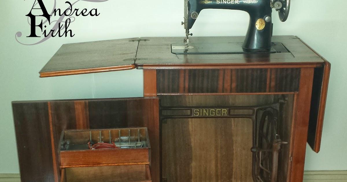 Obsessive Creativeness 1937 Model 66k Singer Treadle Sewing Machine