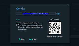 Triv - Deposit dana