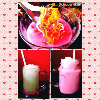 Kepoin minuman di kedai Mie Dahsyat Peudes
