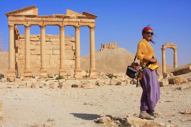 Visitar PALMIRA, uma maravilha do mundo   Síria
