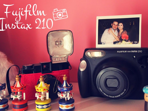 Fujifilm Instax 210 Polaroid Makine