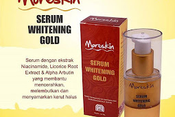 Moreskin Serum Whitening Gold Atasi Kerut Halus Di Wajah