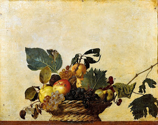 Basket of Fruit, by Caravaggio