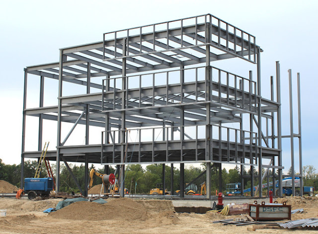 Commercial, residential, industrial and structural Steel Building
