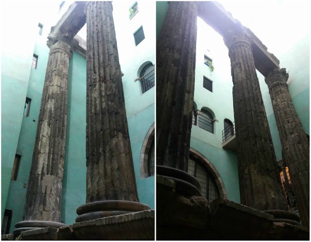 Museu de História de Barcelona (MUHBA) - Temple d´August