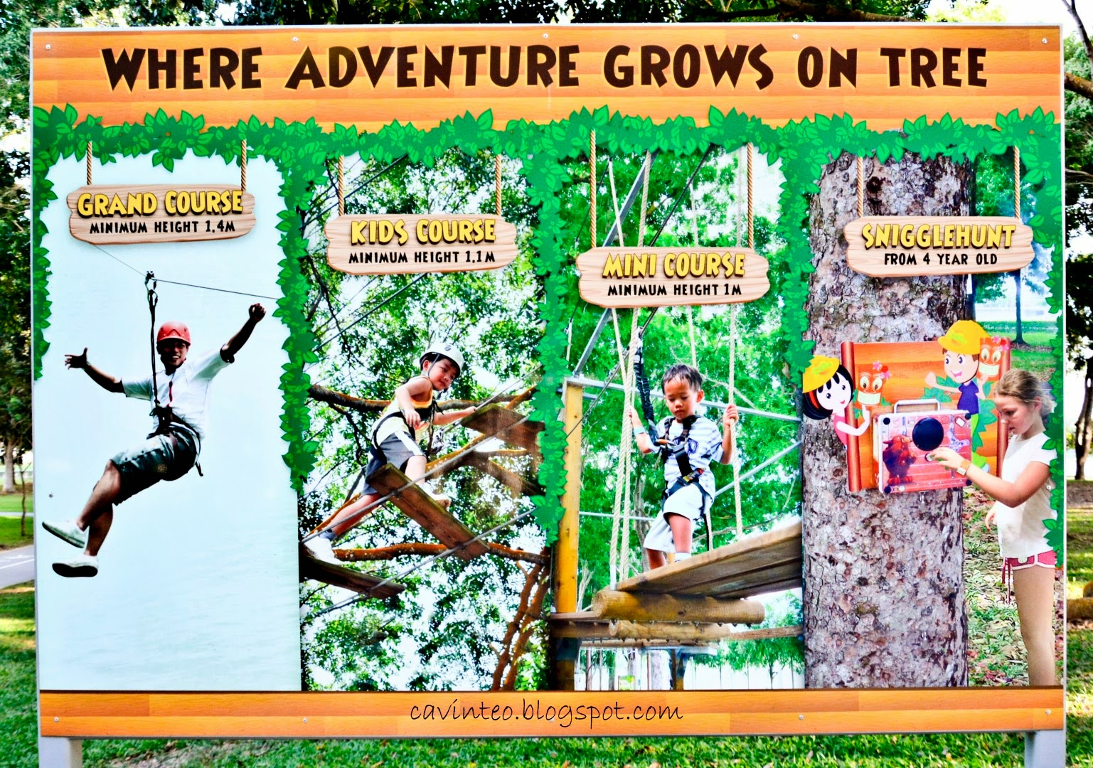 Entree Kibbles Forest Adventure The Place To Conquer Our Fear For Heights Bedok Reservoir Park Singapore